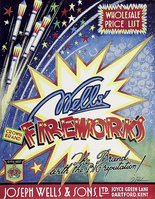 Wells Fireworks was founded by Joseph Wells in 1837 in Dartford
