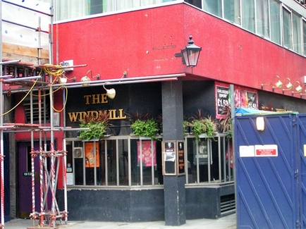 The Windmill in Fitzrovia W1