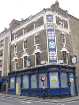 Haymarket Hand & Racquet derelict pub. Tommy Cooper and Sid James once drank here.