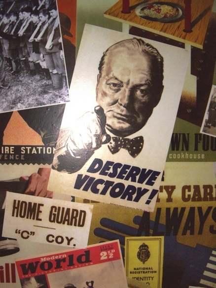 The Churchill Kensington wartime posters