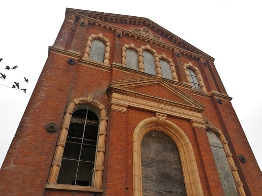 Picture of Sheerness Local Board of Healtha disused water pumping station in a derelict state awaiting redevelopment and regeneration