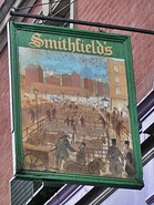 Smithfields pub on Farringdon Road in EC1