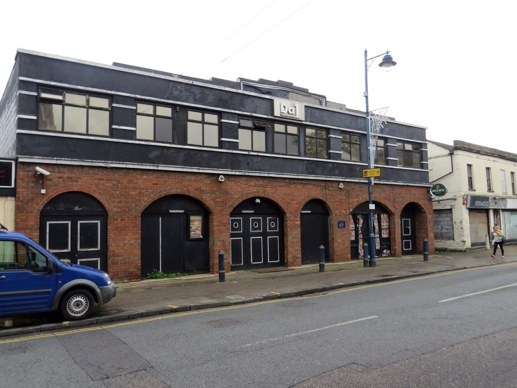 The defunct DA1 nightclub in Dartford awaits demolition. The nightclub has been known by various names over the years including, Bridewells, Silver Lady, 3D & Talk of the Town