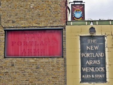 South Lambeth, SW8 - The derelict New Portland Arms