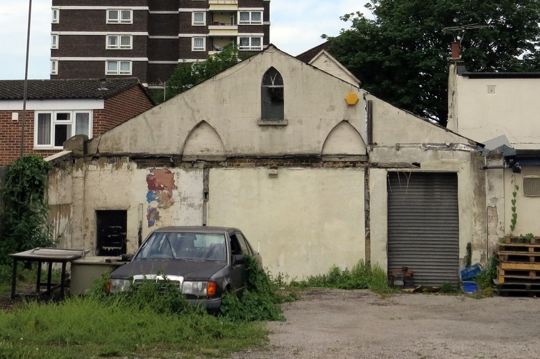 Plaistow E13  abandoned former Sally Army Chapel