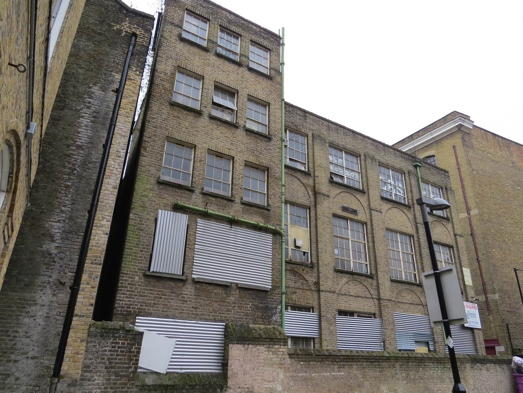 Picture of the derelict St Patricks Social Club - Wapping, E1