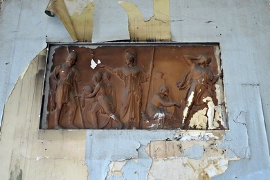 Picture of derelict London Averard Hotel interior in Bayswater near Lancaster Gate