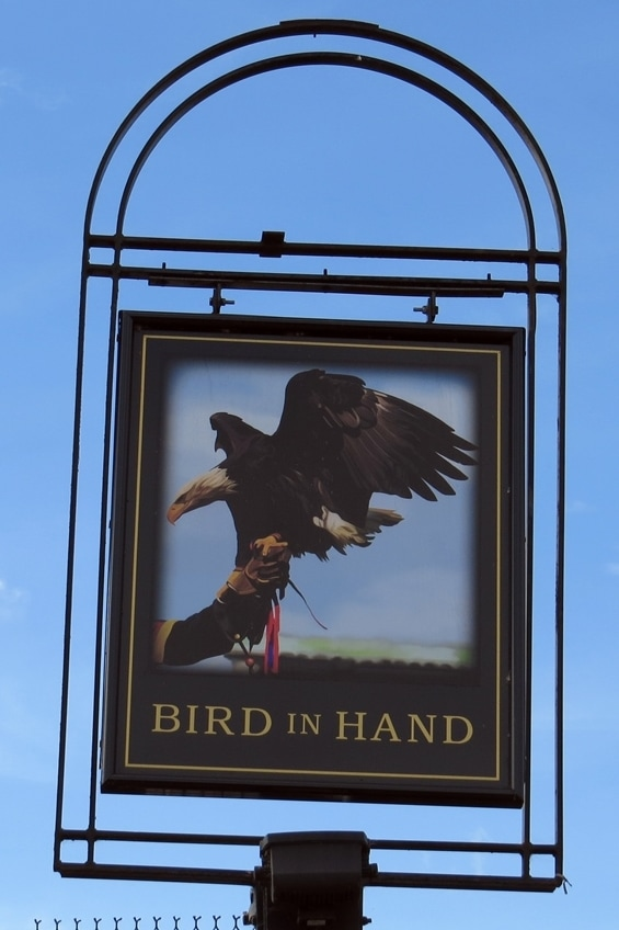 ​The Bird in Hand on Sydenham Road was built beside the Croydon Canal in the 1820s.