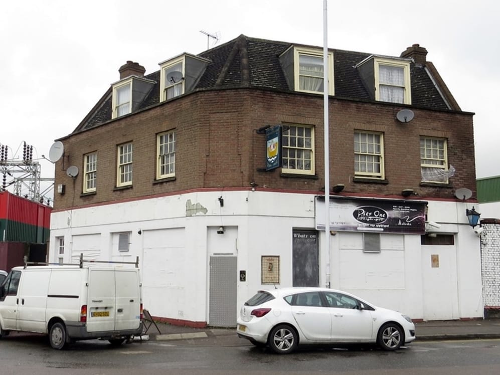 Dartmouth Arms in Bidder Street Canning Town is now an African nightclub