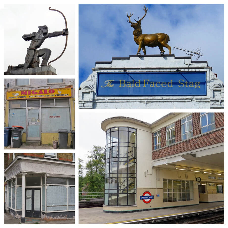 "​This guided walking tour with Paul Talling, author of London's Lost Rivers and Derelict London, starting at the Art Deco East Finchley station takes in the UK headquarters of McDonald's and its ""Hamburger University,"" the flat where Peter Sellers lived with his mum and the house where George Michael was born"
