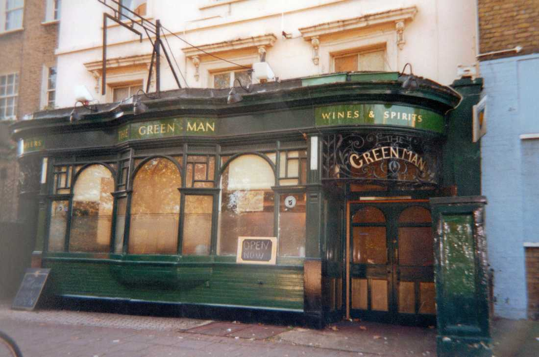 Green Man pub closed down on Cambridge Heath Rd and is now Mr Cod and the upper floors are the City View Hotel.