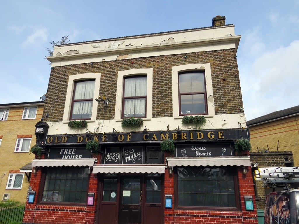 Old Duke Of Cambridge on Reeves Rd. Another lost pub in Tower Hamlets