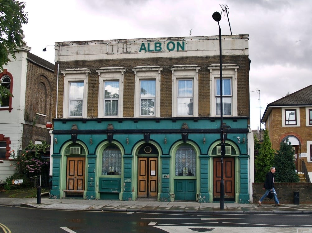 The Albion another ghost pub in Hackney
