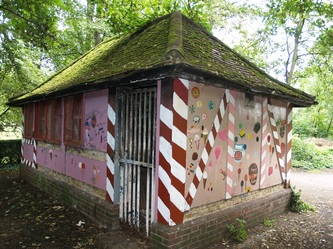 toilet cottage in a South London park