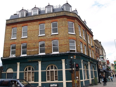 The Cockerel, a lost pub in in Tottenham N17