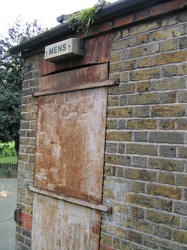East London closed down public convenience