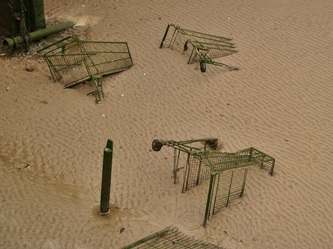 abandoned supermarket shopping trolleys can cause environmental damage and are eyesores