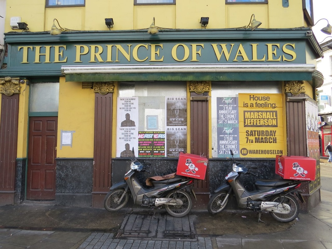 Another dead London pub is The Prince of Wales on the Harrow Road, W9