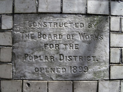 Public Toilet in Bow Constructed by the Board of Works for the Poplar District
