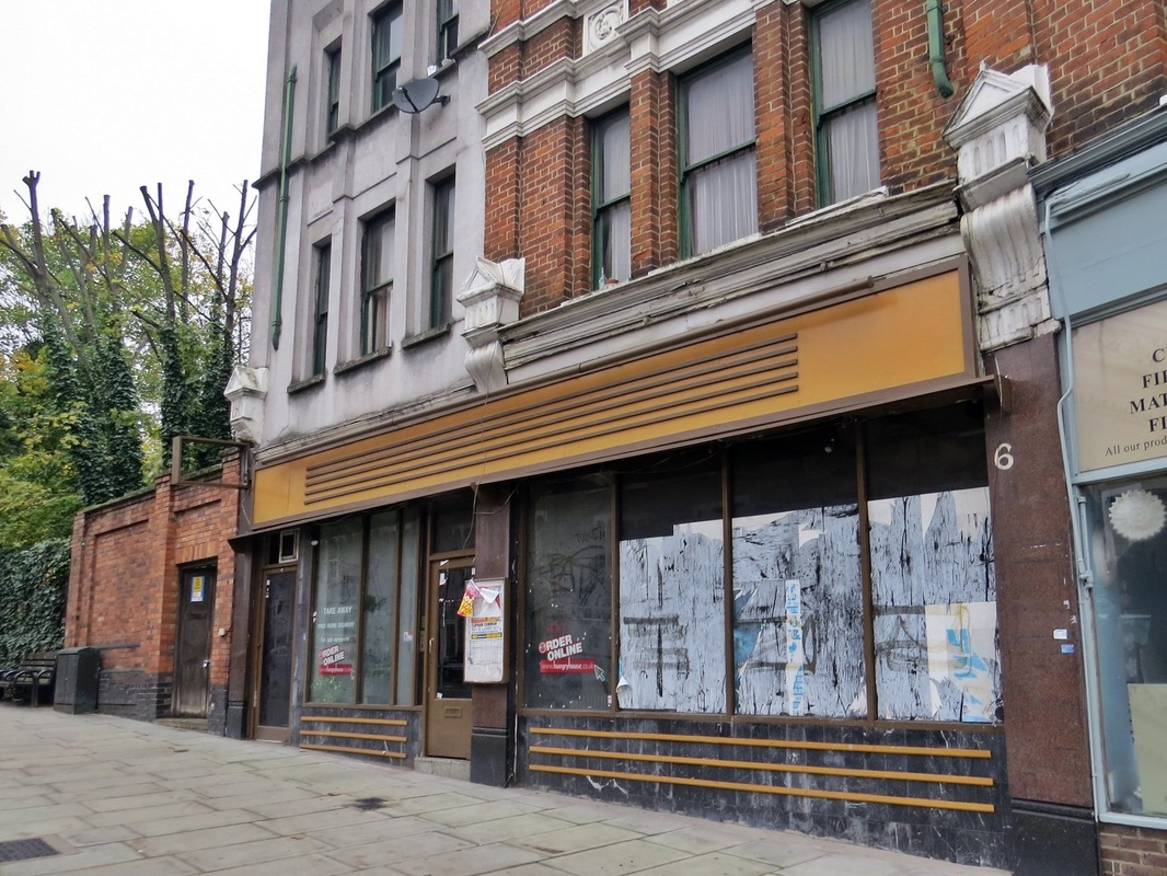The former Beijing House Chinese Restaurant then the Navy Thai 9 on the west Hill in Wandsworth has been empty for a few years