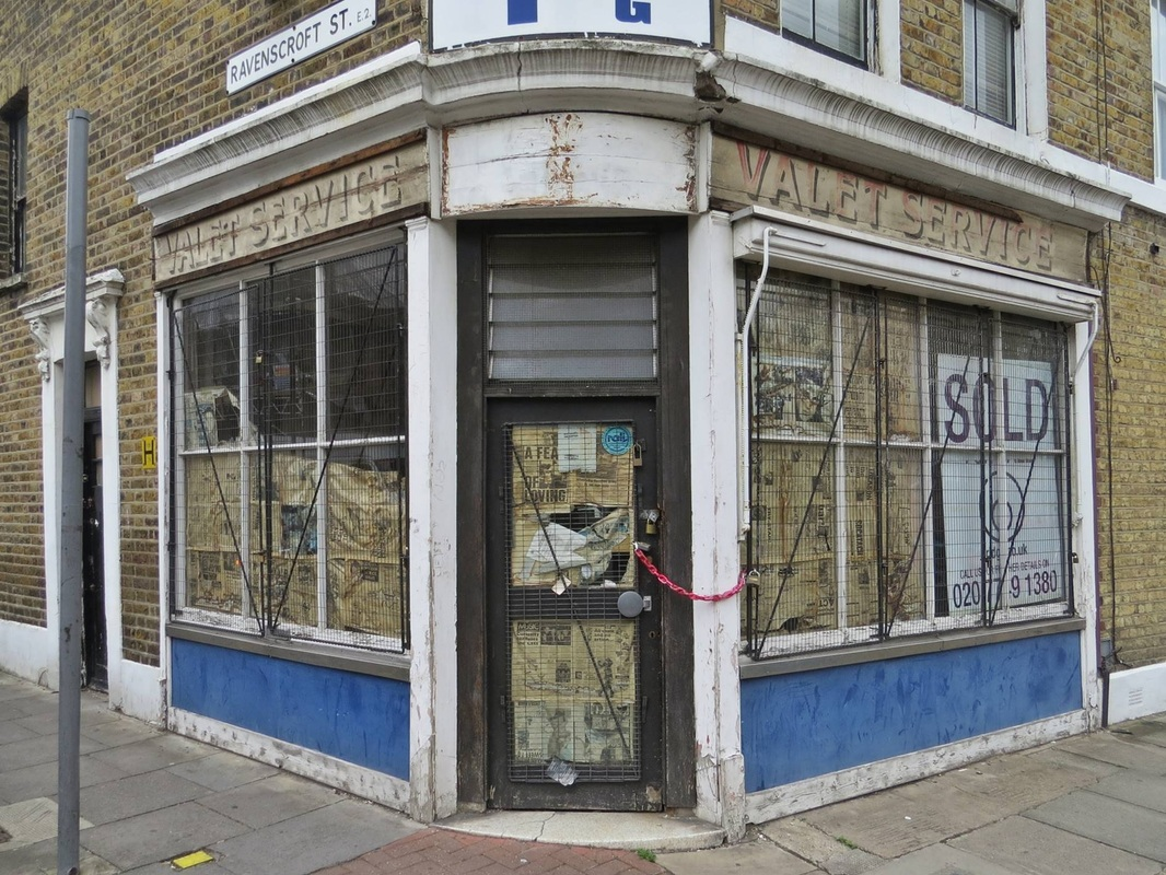Bethnal Green E2 derelict shop
