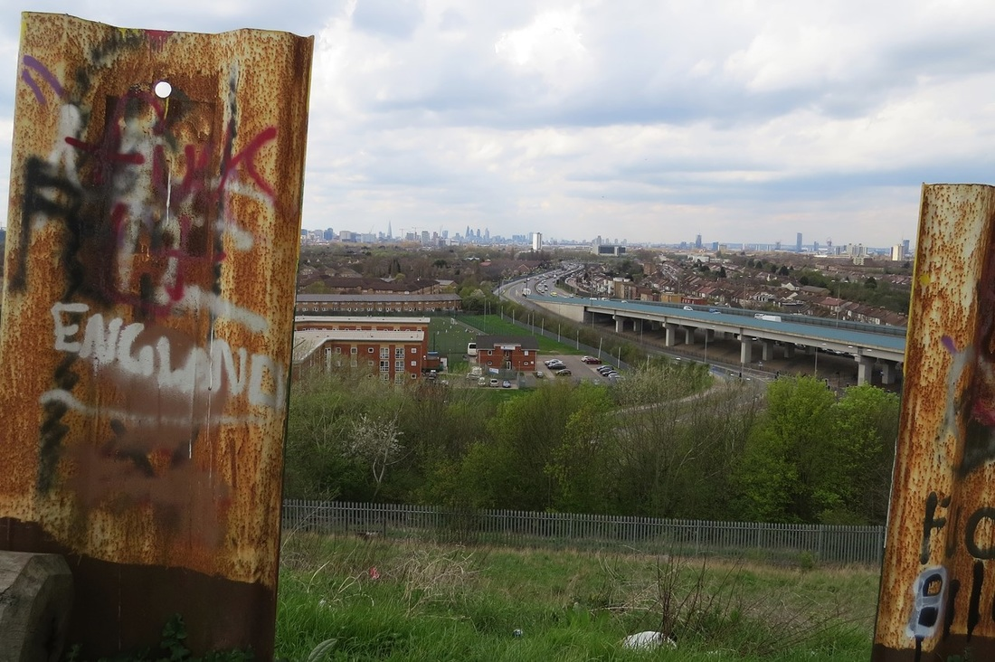 Beckton Alp was the original spoil from the coke used in that gas making.It was later turned into a dry ski slope