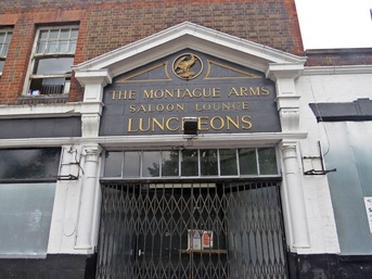 CLOSED DOWN. MONTAGUE ARMS - NEW CROSS, SE15