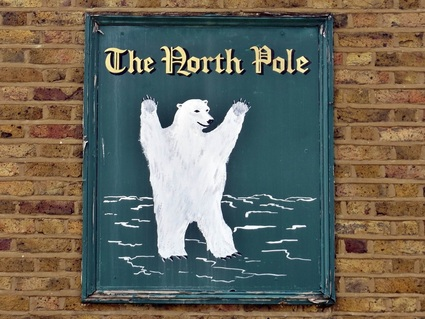 The closed down North Pole - Isle of Dogs, E14 another lost pub in Tower Hamlets