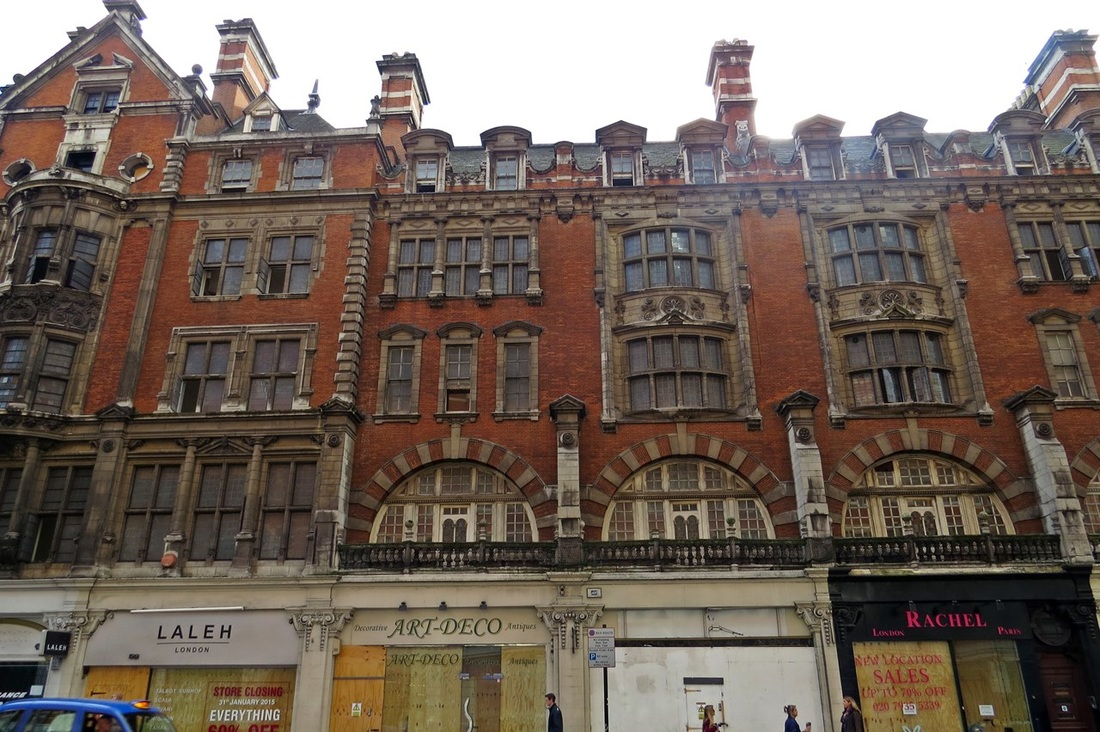 Picture of Knightsbridge regeneration project where a  new scheme will provide retail at street level with office space and 15 luxury apartments at levels 1-5.