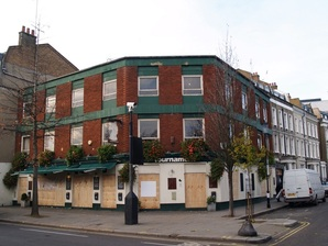 The Tournament pub in West Brompton