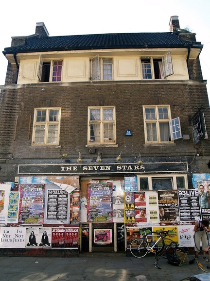 The Seven Stars pub in Brick Lane has been empty for years