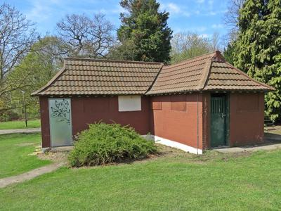 public toilets in Avery Hill Park, Eltham SE9