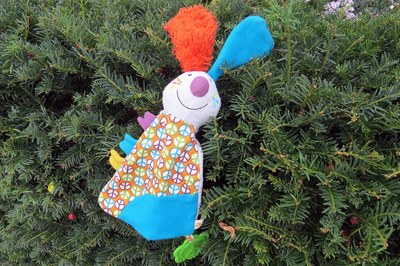 Child's CND cute toy lost in hedge in Blackheath