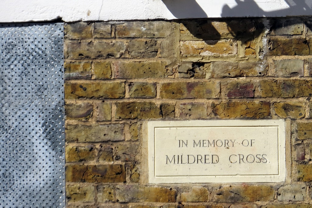 Church Army Housing. Who was Mildred Cross?