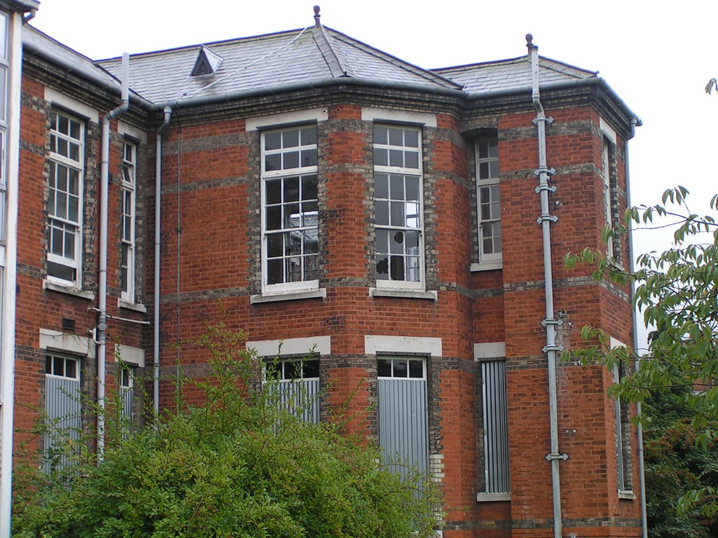 The closed down Colindale is one of London's Lost Hospitals