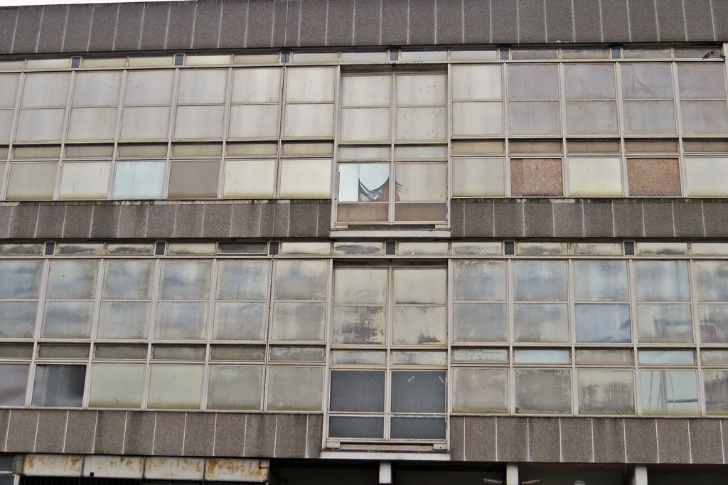 Derelict ​Royal Mail Delivery Offices ​ in  Addiscombe Road, Croydon