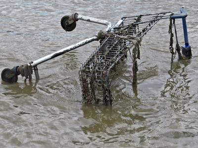 Local authorities are currently responsible for recovering abandoned trolleys and returning them to supermarkets.