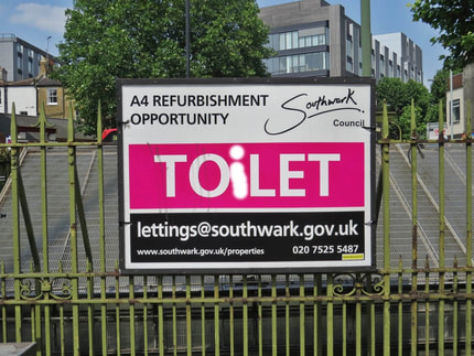 To Let. TOiLET. public toilets occupy prime sites in London and councils have realised that they are sitting on a valuable assets