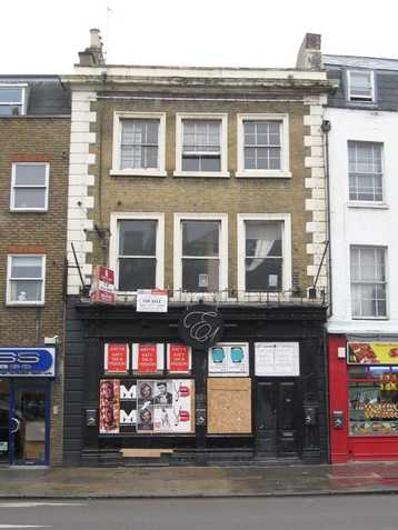 The Black Horse in Mile End Road was renamed the E-One (E1) Club in 2006