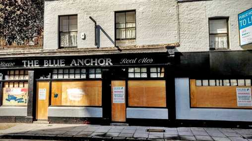 Blue Anchor was the last surviving pub in Bromley High Street