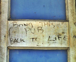 Bring this pub back to life. A dead pub in Shadwell now demolished to be replaced by flats