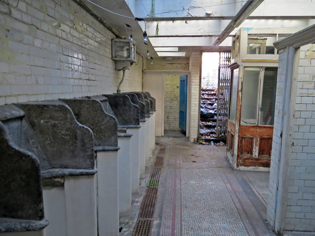 Disused underground public toilets in London