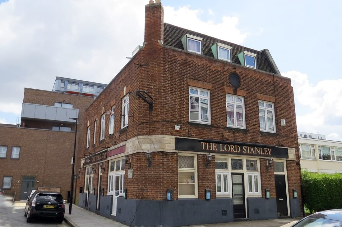 The Lord Stanley in Carmen Street closed in 2013