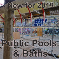 Link to Derelict London public pools and baths photography page