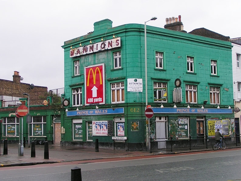Mannion's Prince of Wales in Tottenham, N17