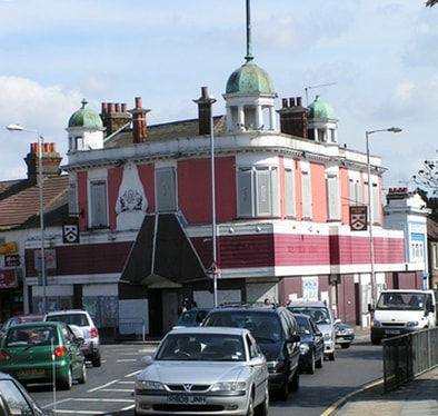 Westbury Arms in Ilford. Another lost pub.