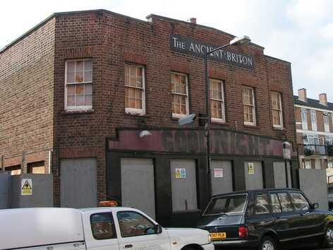 Ancient Briton in Glaucus St closed in 2005 and demolished in 2007, with flats being built on the site.