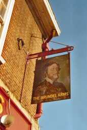 the pub The sign had a portrait of Thomas Howard 21st Earl of Arundel