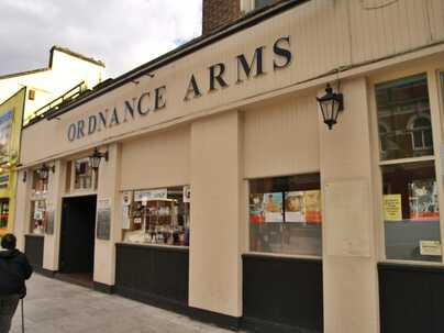 Ordnance Arms in Canning Town (aka Orange Kipper) closed down and demolished