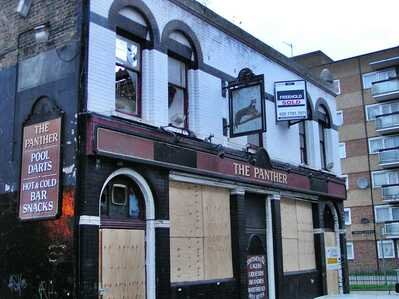 ​The Panther on Turin St survived the Blitz but not modern day planners